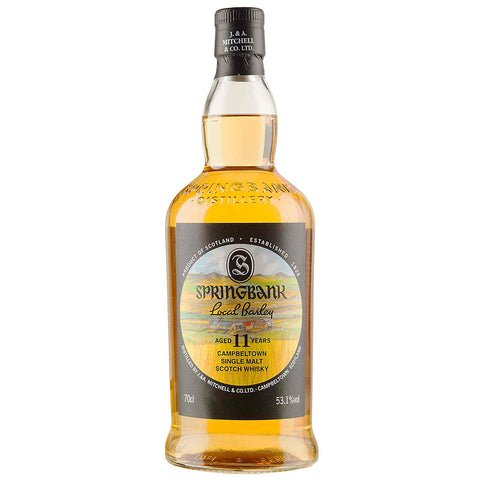 Springbank 11yo Local Barley Campbeltown Scotch Single Malt Whisky