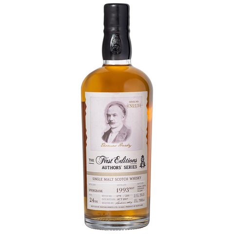 Springbank 24yo Authors Series Single Cask Highland Single Malt Scotch Whisky
