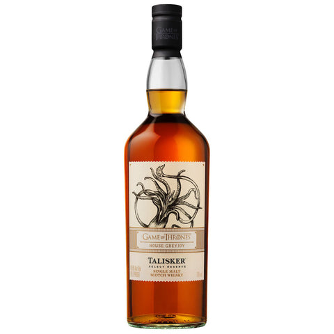 Talisker Game of Thrones House Greyjoy Single Malt Scotch Whisky