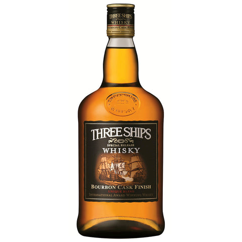 Three Ships Bourbon Cask South African Blended Whisky