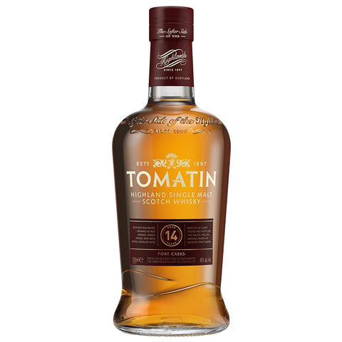 Tomatin 14yo Highlands Single Malt Scotch Whisky