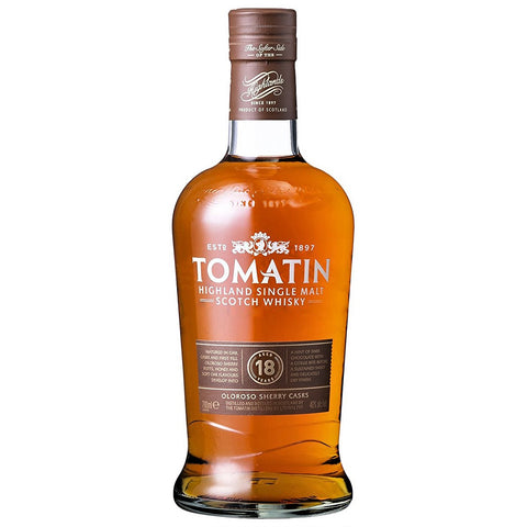 Tomatin 18yo Highlands Single Malt Scotch Whisky