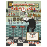 James E Pepper 4yo Ale Finish Boutiquey American Rye Whiskey