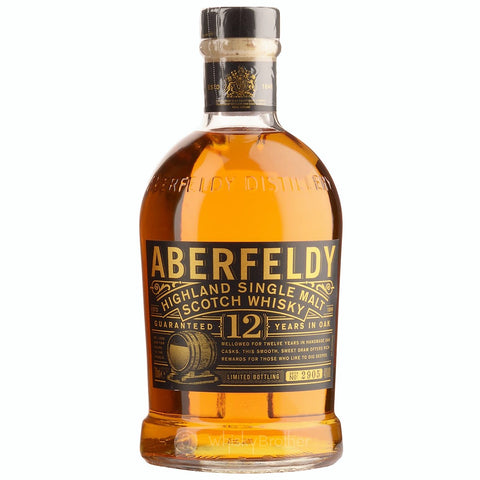 Aberfeldy 12yo Highland Scotch Single Malt Whisky