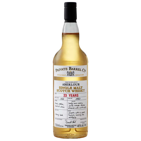 Aberlour 23 Year Old Private Barrel Single Malt Scotch Whisky