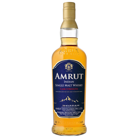 Amrut Cask Strength Single Malt Indian Whisky