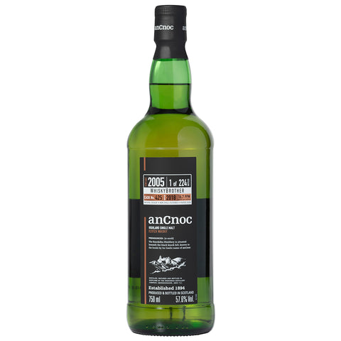 anCnoc Peated 13yo Single Cask WhiskyBrother Speyside Single Malt Scotch