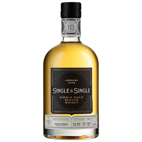 Ardmore 10 Year Old Single & Single Highland Scotch Single Malt Whisky