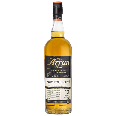 Arran 12 Year Old Trebbiano WhiskyBrother Single Malt Scotch Whisky