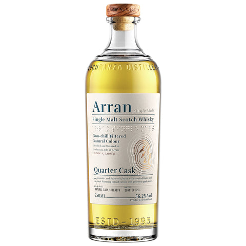 Arran Quarter Cask Islands Single Malt Scotch Whisky