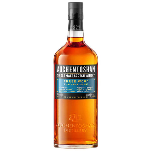 Auchentoshan Three Wood Lowlands Single Malt Scotch Whisky