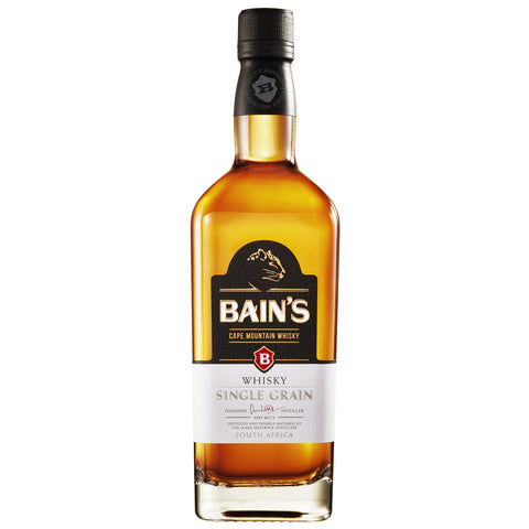 Bain's Cape Mountian Single Grain South African Whisky