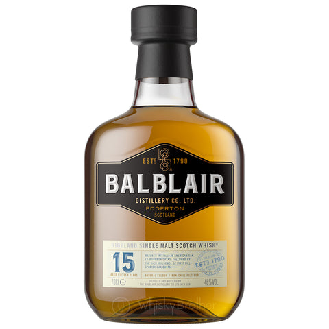 Balblair 15yo Highland Single Malt Scotch Whisky