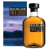 Balblair 1991 27yo Highland Single Malt Scotch Whisky
