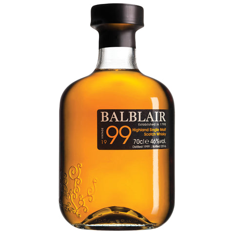 Balblair 1999 Vintage Highlands Single Malt Scotch Whisky