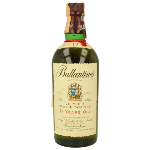 Ballantine's 17 Year Old 1980's/1990's Blended Scotch Whisky