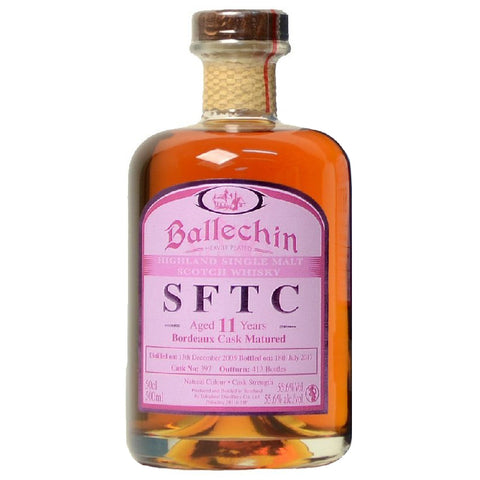 Ballechin 11yo Bordeaux Cask Highland Scotch Single Malt Whisky