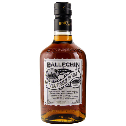 Ballechin Vintage 2008 LMDW Highlands Single Malt Scotch Whisky