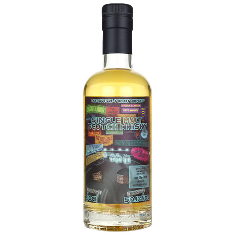 Balmenach 15 Year Old Boutiquey Speyside Single Malt Scotch Whisky