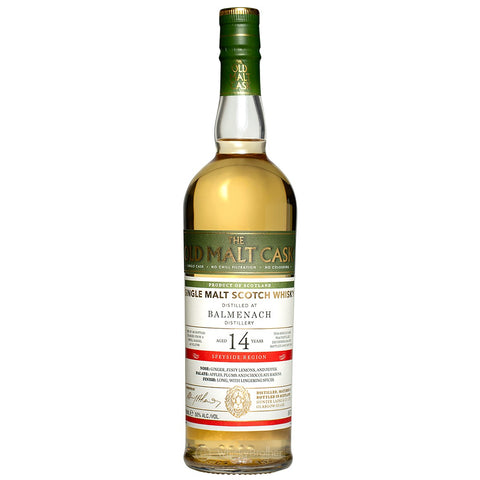 Balmenach 14yo Old Malt Cask Speyside Scotch Single Malt Whisky