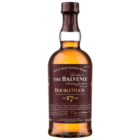 Balvenie 17 Year Old DoubleWood Speyside Single Malt Scotch Whisky
