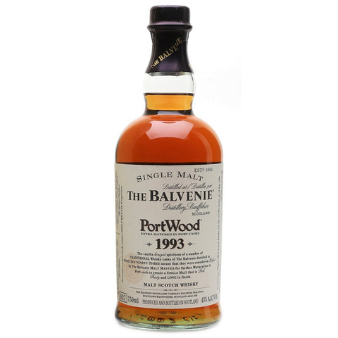 Balvenie 1993 PortWood Speyside Single Malt Scotch Whisky