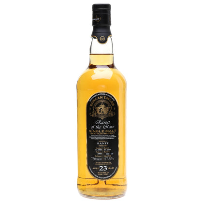 Banff 23yo Duncan Taylor Speyside Single Malt Scotch Whisky