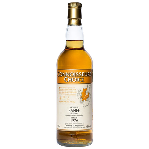 Banff 32 Year Old Gordon & Macphail Single Malt Scotch Whisky