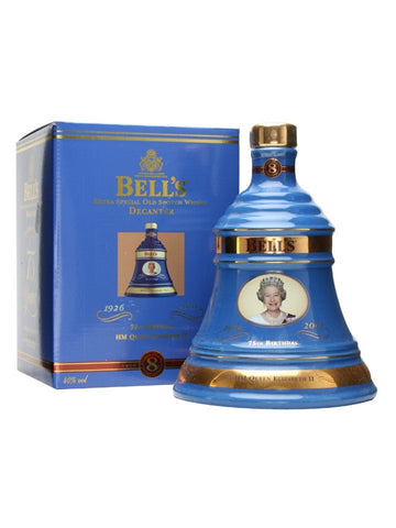 Bells Decanter Queens 75th Birthday