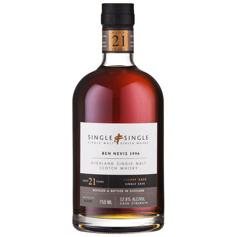 Ben Nevis 21yo Single & Single Highland Scotch Single Malt Whisky