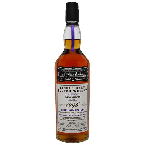 Ben Nevis 23yo First Editions Highlands Single Malt Scotch Whisky