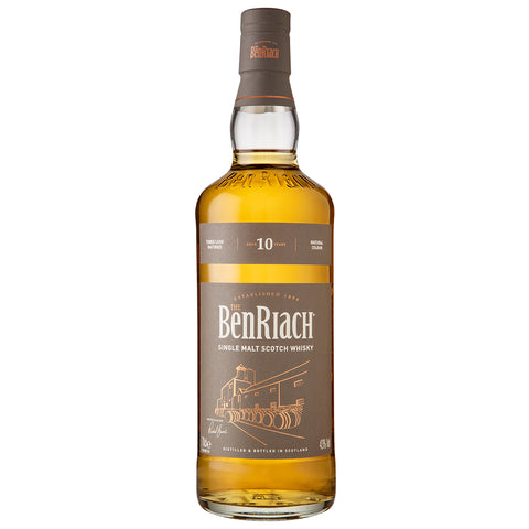 BenRiach 10 Year Old Speyside Single Malt Scotch Whisky