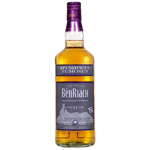 BenRiach 12yo Arumaticus Speyside Single Malt Scotch Whisky