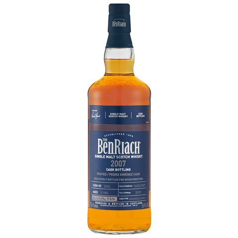 BenRiach 12yo Pedro Ximenez Speyside Single Malt Scotch Whisky