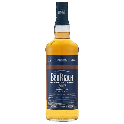 BenRiach 12 Year Old Rum Finish Speyside Single Malt Scotch Whisky