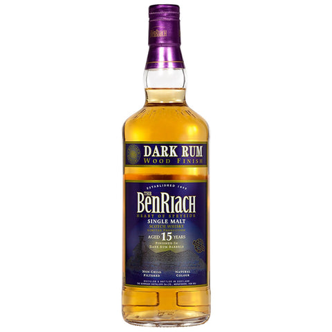 BenRiach 15yo Dark Rum Finish Speyside Single Malt Scotch Whisky