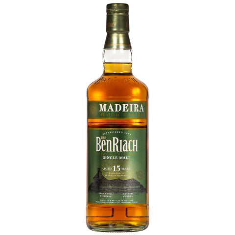BenRiach 15yo Madeira Finish Speyside Single Malt Scotch Whisky