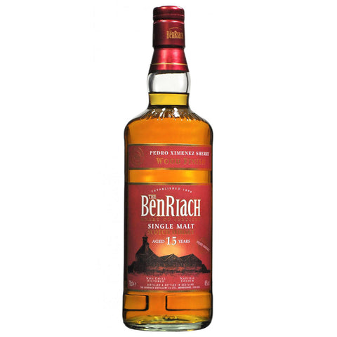 BenRiach 15yo Pedro Ximenez Sherry Speyside Single Malt Scotch Whisky