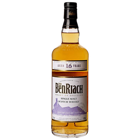 BenRiach 16yo Speyside Single Malt Scotch Whisky