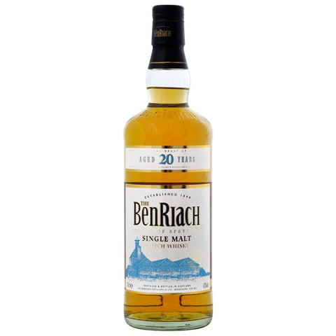 BenRiach 20yo Speyside Single Malt Scotch Whisky