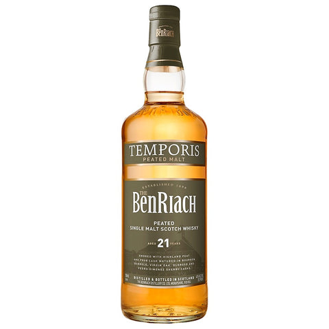 BenRiach 21yo Temporis Speyside Scotch Single Malt Whisky