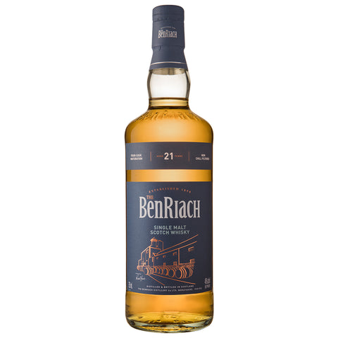 BenRiach 21yo Speyside Single Malt Scotch Whisky