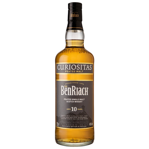 BenRiach 10 Year Old Curiositas Speyside Single Malt Scotch Whisky