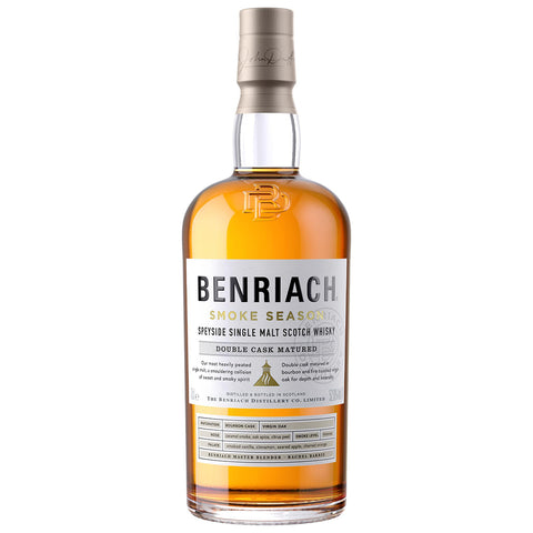 BenRiach Smoke Season Speyside Single Malt Scotch Whisky