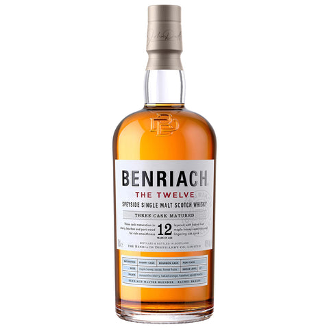 BenRiach 12yo The Twelve Speyside Single Malt Scotch Whisky