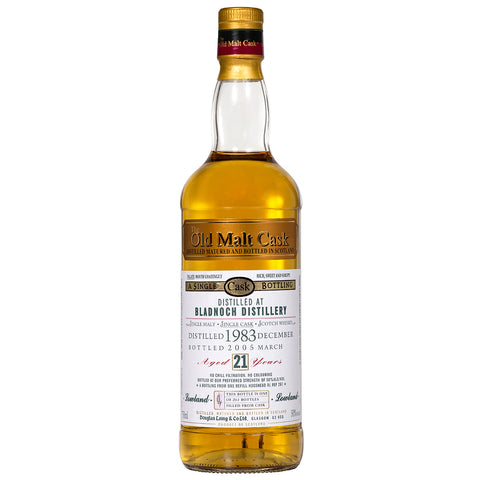 Bladnoch 23yo Old Malt Cask Lowland Single Malt Scotch Whisky