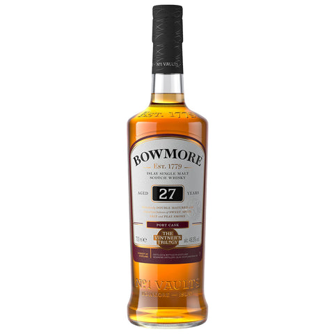Bowmore 27yo Port Cask Islay Single Malt Scotch Whisky