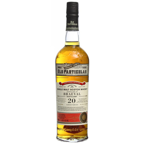 Braeval 20yo Old Particular Speyside Single Malt Scotch Whisky