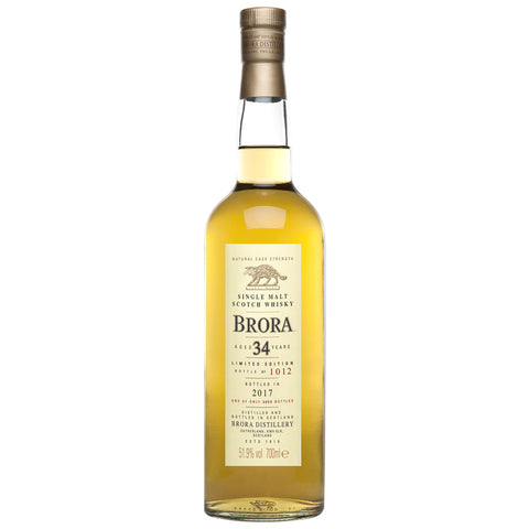 Brora 34 Year Old 2017 Release Highlands Single Malt Scotch Whisky