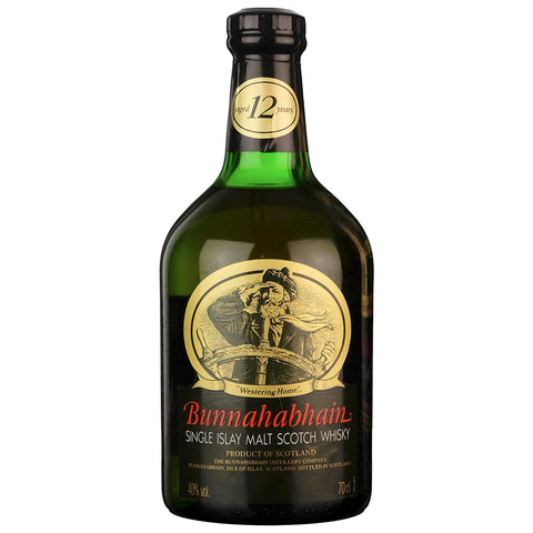 Bunnahabhain 12 Year Old 1980s Islay Scotch Single Malt Whisky